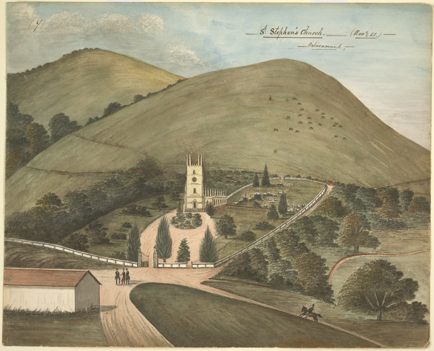 St Stephen's Church, Ootacamund.  November 1851